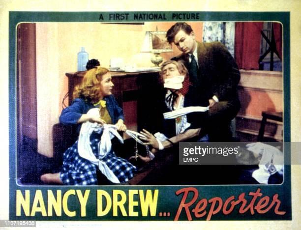 Nancy Drew Reporter lobbycardNancy Drew Reporter Bonita Granville Frankie Thomas 1939