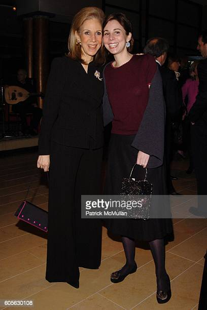 Nancy Druckman and Charlotte Druckman attend The Education Legacy Fund ASID Honors James Druckman at The Rubin Museum of Art on February 13 2006 in...