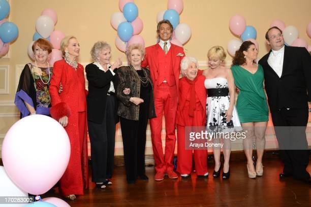 Nancy Dussault Anne Jeffreys June Lockhart Millicent Martin Tommy Tune Charlotte Rae Cathy Rigby Marissa Jaret Winokur and Marc Cherry attend the the...