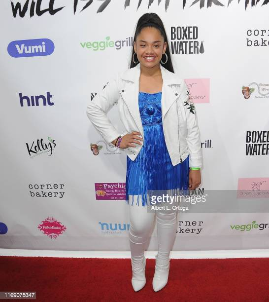 Nancy Fifita attends Singer Will B's 17th Birthday Party held at Starwest Studios on August 17 2019 in Burbank California