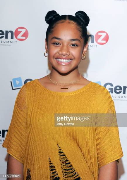 Nancy Fifita attends the ConnectHer Media's Launch Party for the Gen Z Girls X Gen Z Guys Influencer Brand on October 19 2019 in Garden Grove...