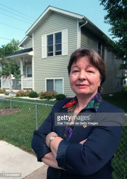 Nancy Finch fights city hall Finch stands in front of a Habitat for Humanity house near her home She says she was instrumental in getting the old...