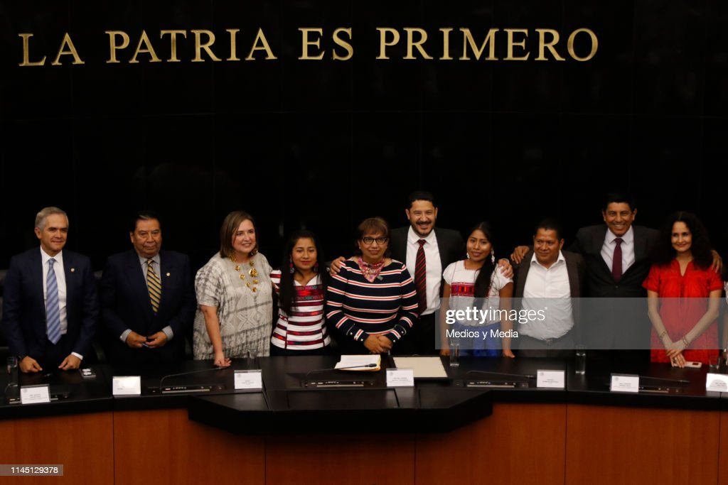 MEX: Senate in Mexico Offers a Homage to Mexican Actress Yalitza Aparicio