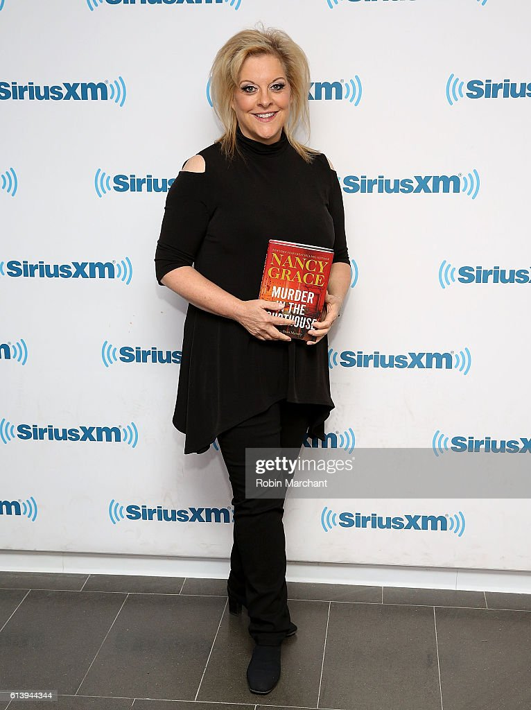 Nancy Grace visits at SiriusXM Studio on October 11, 2016 in New York City.