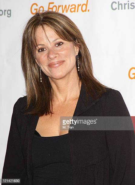 Nancy Grahn during 3rd Annual Los Angeles Gala for the Christopher and Dana Reeve Foundation at Century Plaza Hotel in Century City California United...