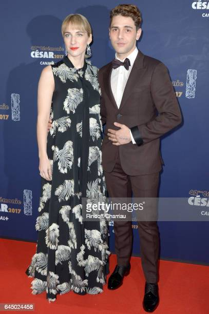 Nancy Grant and Xavier Dolan arrive at the Cesar Film Awards Ceremony at Salle Pleyel on February 24 2017 in Paris France