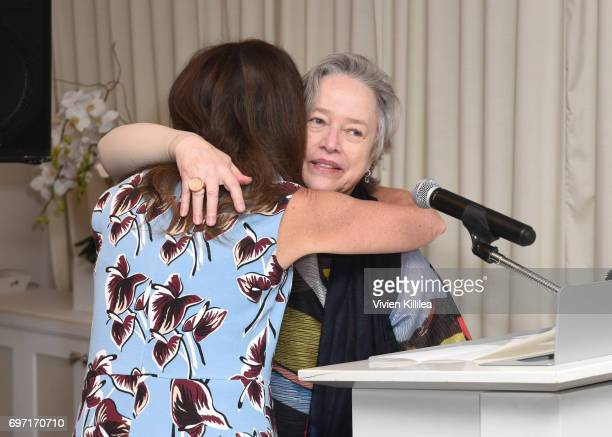 Nancy Gray and Kathy Bates attend Academy Award Winner and LERN Spokesperson Kathy Bates Hosts Reception On The Eve Of The Third Annual California...