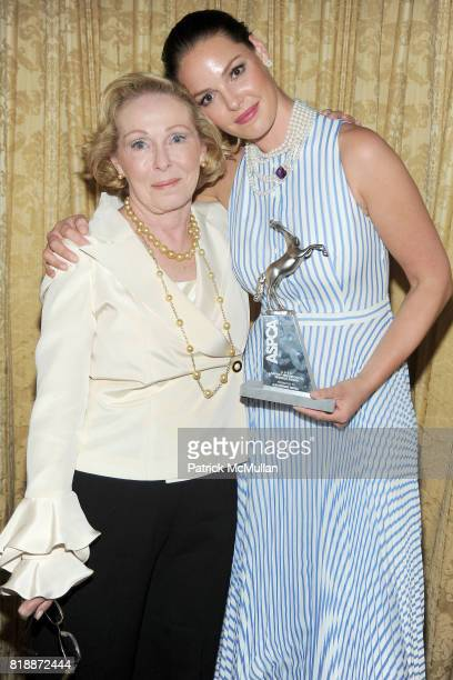 Nancy Heigl and Katherine Heigl attend 13th Annual ASPCA Bergh Ball at The Plaza on April 15 2010 in New York City