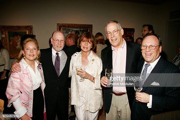 Nancy Hill Alan Seagen Susan Marber Herb Fixler and Jim Hill attend The Celebration of MARK ALPERT'S Debut Thriller FINAL THEORY at The BerryHill...
