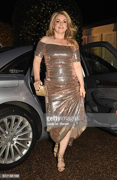 Nancy Hunt arrives in an Audi at Centrepoint at the Palace in the grounds of Kensington Palace at Kensington Palace on November 10 2016 in London...