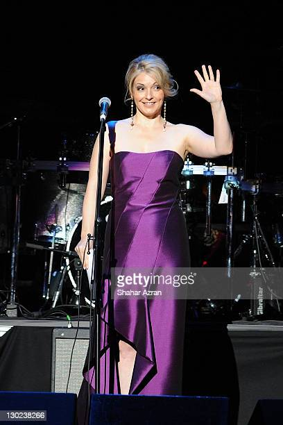 Nancy Hunt attends the We Are Family Foundation 10 Year Celebration Gala at the Hammerstein Ballroom on October 24 2011 in New York City