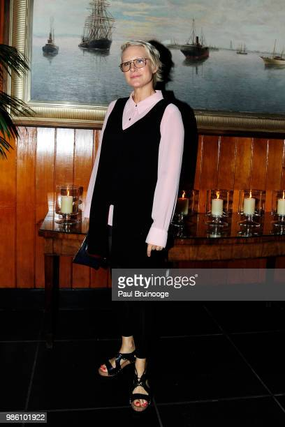 Nancy Jarecki attends The Cinema Society With Synchrony And Avion Host The After Party For Marvel Studios' 'AntMan And The Wasp' at The Water Club...