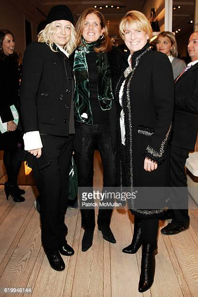 Nancy Jarecki Polly Onet and Felicia Taylor attend ROGER VIVIER Hosts Cocktail Event For NEW YORKERS FOR CHILDREN at Roger Vivier on October 22 2008...