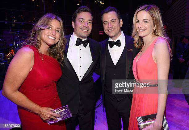 Nancy Juvonen Jimmy Fallon and Jimmy Kimmel attend TIME 100 Gala TIME'S 100 Most Influential People In The World at Jazz at Lincoln Center on April...