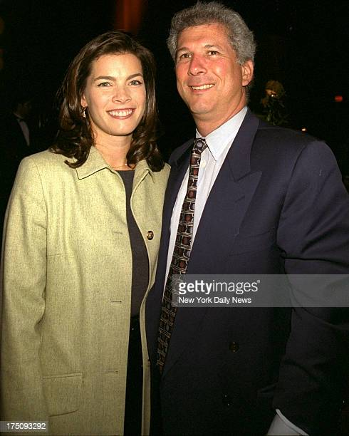 Nancy Kerrigan and husband Jerry Solomon at People Magazine dinner following concert at Manhattan Center