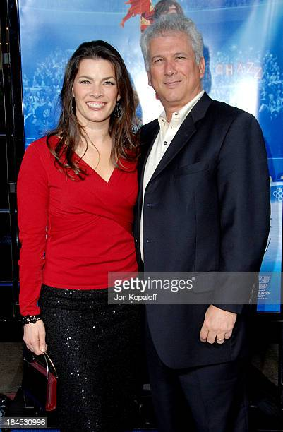 Nancy Kerrigan and husband Jerry Solomon during Blades Of Glory Los Angeles Premiere Arrivals at Grauman's Chinese Theatre in Hollywood California...