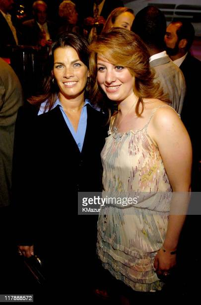 Nancy Kerrigan and Sarah Hughes during ESPN's 25th Anniversary Celebration Inside at ESPN Zone Times Square in New York City New York United States