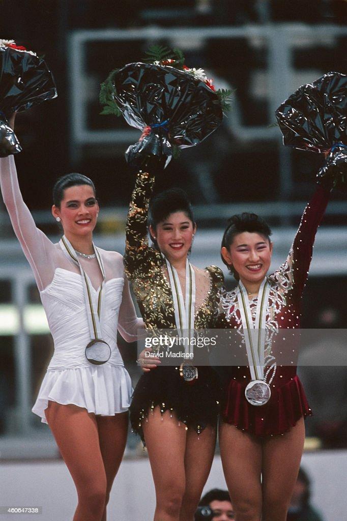 1992 Olympics - Women's Figure Skating : News Photo