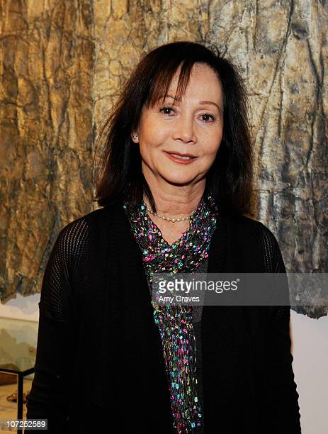 Nancy Kwan attends the Charlotte Bjorlin Delia Jewelry Show and Manfred Menz Art Show at Roseark on December 1 2010 in West Hollywood California