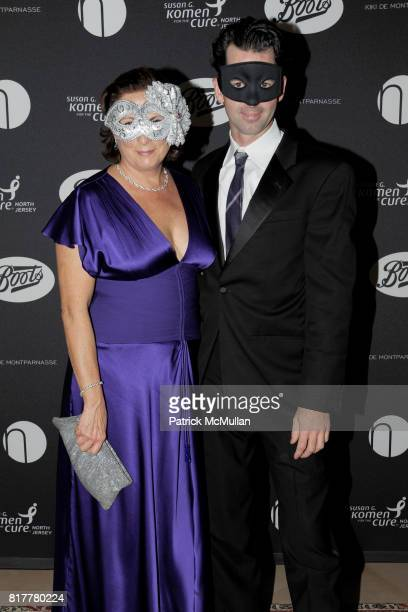 Nancy Laird and James Laird attend VIP MASKED BALL for Susan G Komen Headlined by Sir Richard Branson Katie Couric Cornelia Guest HM Queen Noor and...