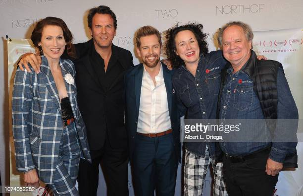 Nancy LaScala Jay Huguley ShawnCaulin Young Angela Shelton and Ritchie Montgomery arrive for the premiere of 'Heart Baby' held at The Ahrya Fine Arts...