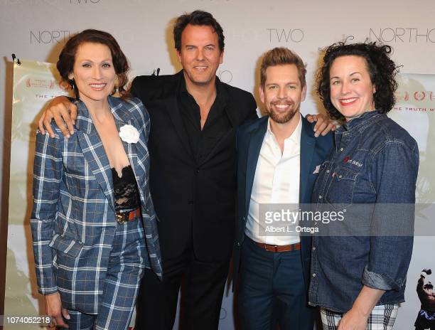 Nancy LaScala Jay Huguley ShawnCaulin Young Angela Shelton arrive for the premiere of 'Heart Baby' held at Ahrya Fine Arts Theater on November 23...