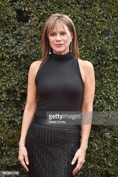 Nancy Lee Grahn attends the 2018 Daytime Emmy Awards Arrivals at Pasadena Civic Auditorium on April 29 2018 in Pasadena California