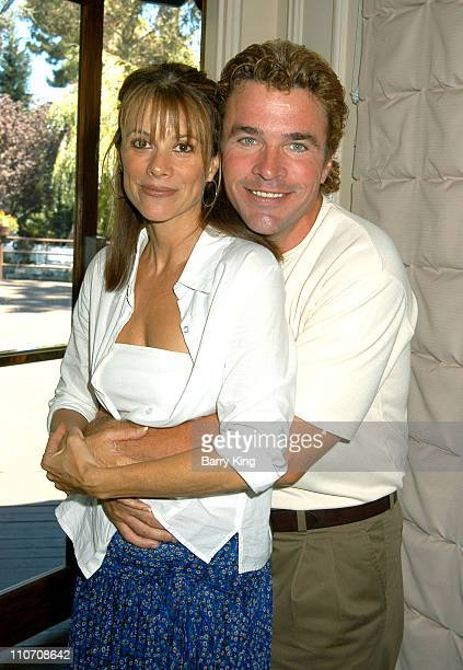 Nancy Lee Grahn John J York during ABC's 'General Hospital' Fan Day Event at Sportsmen's Lodge in Studio City California United States