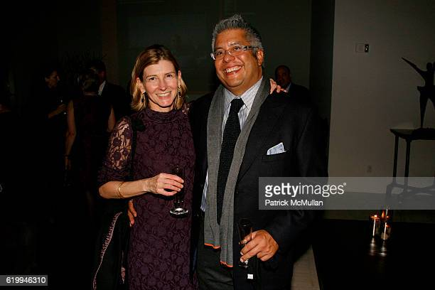 Nancy Lindberg and Hank Vigil attend DONNA KARAN and THE URBAN ZEN FOUNDATION host a dinner for THE MERCY CORPS at Stephan Weiss Studio on October 22...