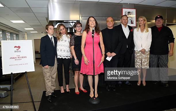 Nancy Mahon John Demsey Karen Pearl Michael Kors Melissa Rivers Cooper Endicott Blaine Trump and Chuck Piekarski attend the God's Love We Deliver...