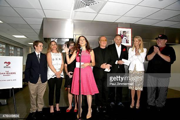 Nancy Mahon John Demsey Karen Pearl Michael Kors Melissa Rivers Cooper Endicott Blaine Trump and Chuck Piekarski attend the 'God's Love We Deliver'...