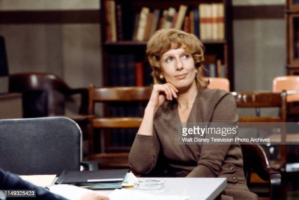 Nancy Marchand appearing in the ABC tv movie 'RX for the Defense'