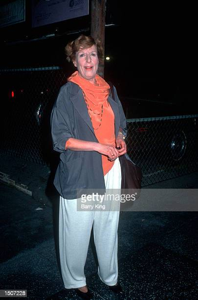 Nancy Marchand at the opening of The Cocktail Hour in Los Angeles CA April 19 1990
