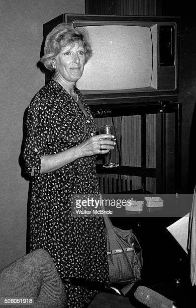 Nancy Marchand attends a Channel Thirteen party in New York City on 5/31/1981