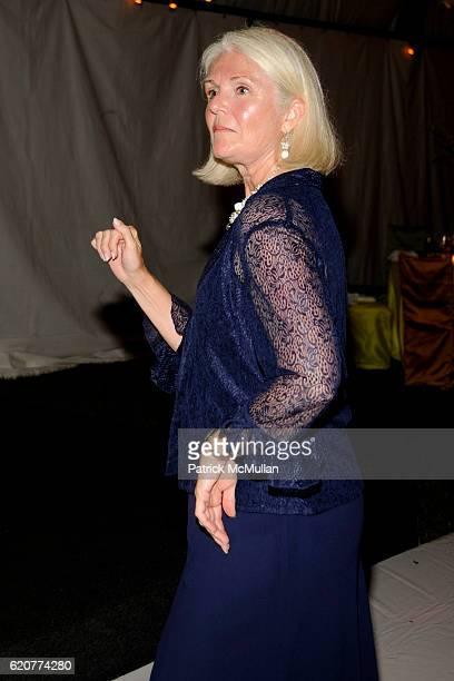 Nancy McGann attends The Board of Trustees of The PARRISH ART MUSEUM Host The Midsummer Party Honoring ALVIN CHERESKIN at The Parrish Art Museum on...
