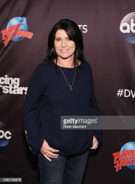 Nancy McKeon attends Dancing With The Stars Season 27 Cast Reveal Red Carpet At Planet Hollywood Times Square at Planet Hollywood Times Square on...