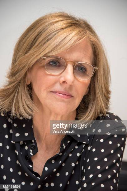 Nancy Meyers at the 'Home Again' Press Conference at the Four Seasons Hotel on August 23 2017 in Beverly Hills California