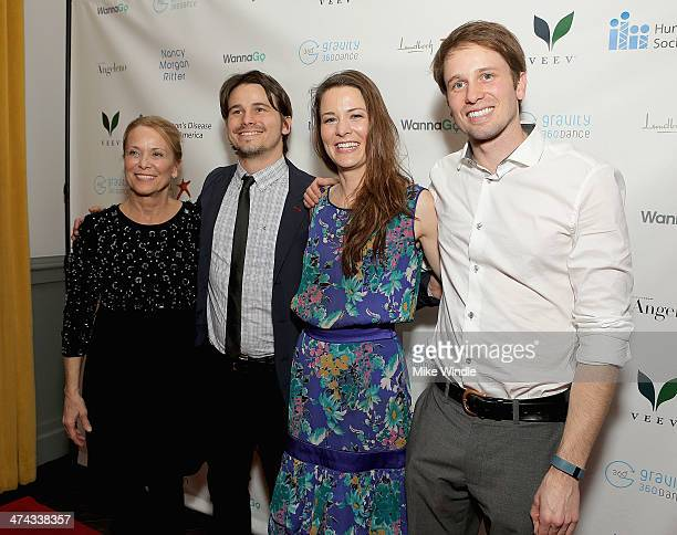 Nancy Morgan Ritter Jason Ritter Carly Ritter and Tyler Ritter attend Huntington's Disease Society Of America 2014 Freeze HD Benefit at Mack Sennett...
