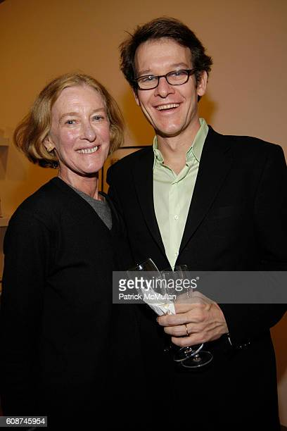 Nancy Mullan and Mullan attend FRIENDS of The HIGH LINE Host Design Auction Preview and Cocktail Party at 450 West 15th Street on December 7 2007 in...
