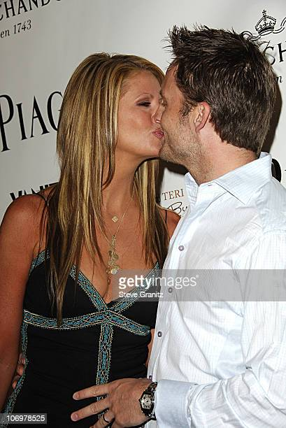 Nancy O'Dell and husband Keith during Launch Party for Teri Hatcher's Book Burnt Toast and Other Philosophies of Life Arrivals at Book Soup/Aqua...