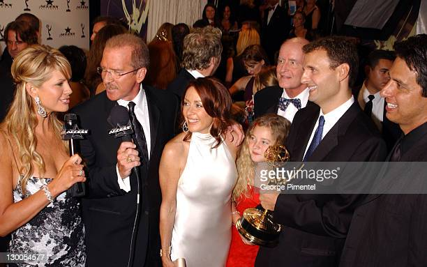 Nancy O'Dell and Pat O'Brien with Patricia Heaton husband David Hunt and costar Ray Romano