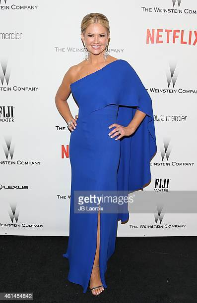 Nancy O'Dell attends the 2015 Weinstein Company and Netflix Golden Globes After Party at Robinsons May Lot on January 11 2015 in Beverly Hills...