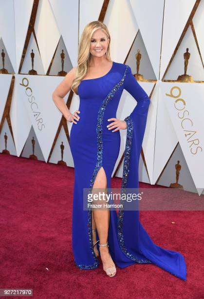 Nancy O'Dell attends the 90th Annual Academy Awards at Hollywood Highland Center on March 4 2018 in Hollywood California