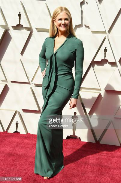 Nancy O'Dell attends the 91st Annual Academy Awards at Hollywood and Highland on February 24 2019 in Hollywood California