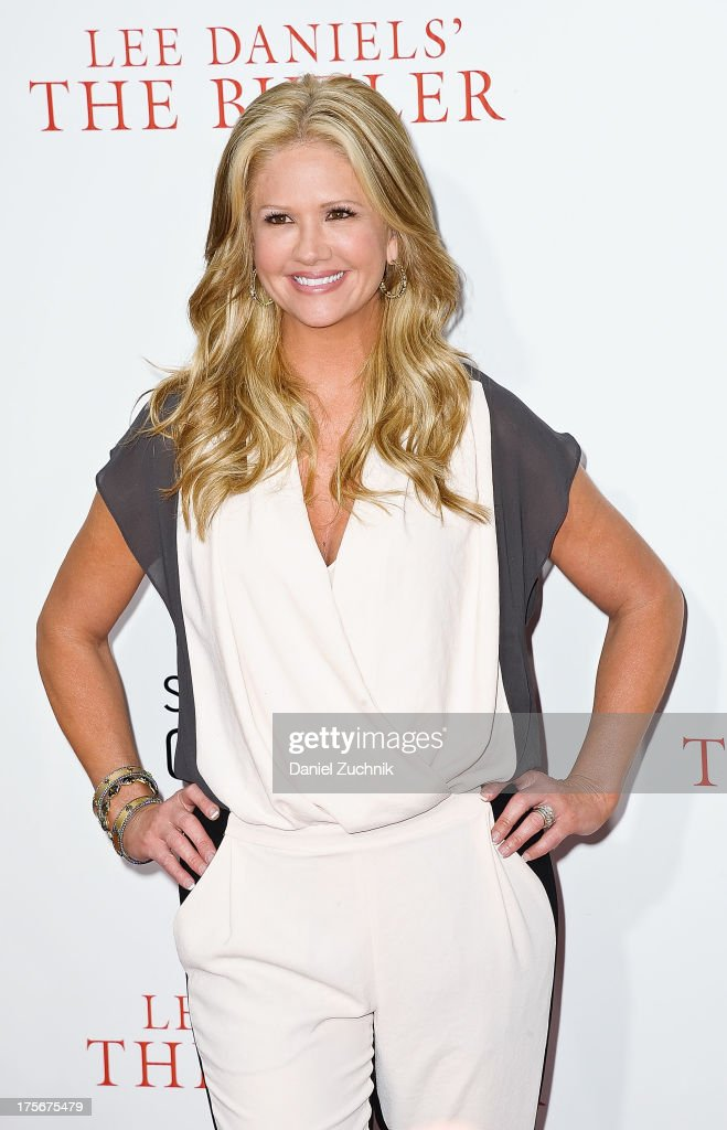 Nancy O'Dell attends 'The Butler' New York Premiere at Ziegfeld Theater on August 5, 2013 in New York City.