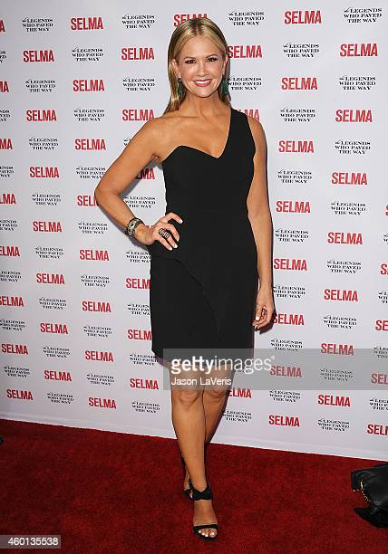 Nancy O'Dell attends the 'Selma' and the Legends Who Paved the Way gala at Bacara Resort on December 6 2014 in Goleta California