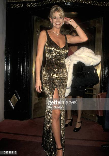 Nancy O'Dell during The 40th Annual GRAMMY Awards Arista Records PreParty Hosted by Clive Davis at Plaza Hotel in New York City New York United States
