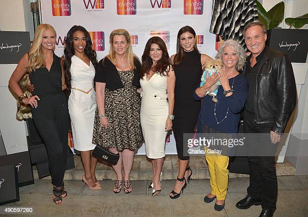 Nancy OÕDell Michelle Williams Nancy Davis Lisa Vanderpump Heather Dubrow Paula Deen and Dr Terry Dubrow attend Celebrating The Women Of EVINE Live...