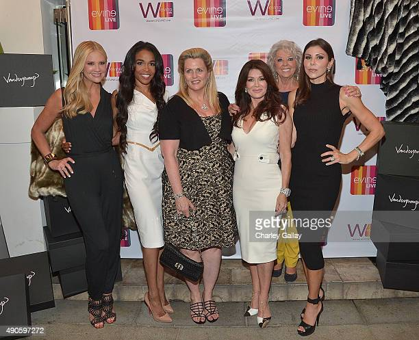 Nancy O'Dell Michelle Williams Nancy Davis Lisa Vanderpump Paula Deen and Heather Dubrow attend Celebrating The Women Of EVINE Live at Villa Blanca...