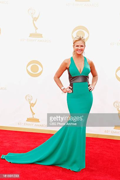 Nancy O'Dell on the Red Carpet for the 65th Primetime Emmy Awards which will be broadcast live across the country 8001100 PM ET/ 500800 PM PT from...